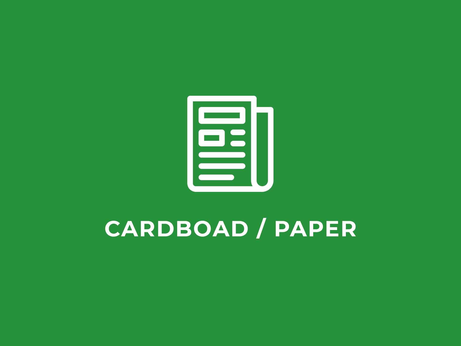 illustration of newspaper on green background