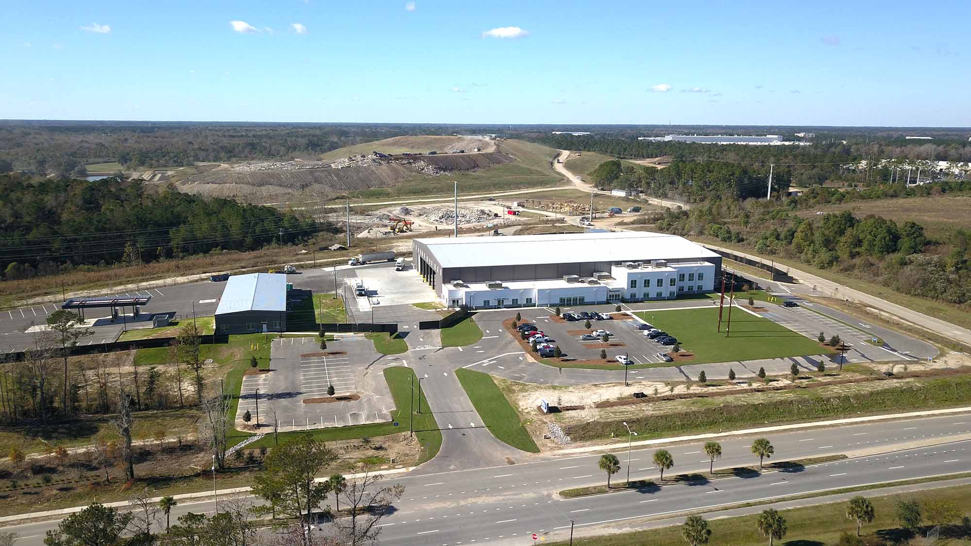 overview of charleston material recover facility