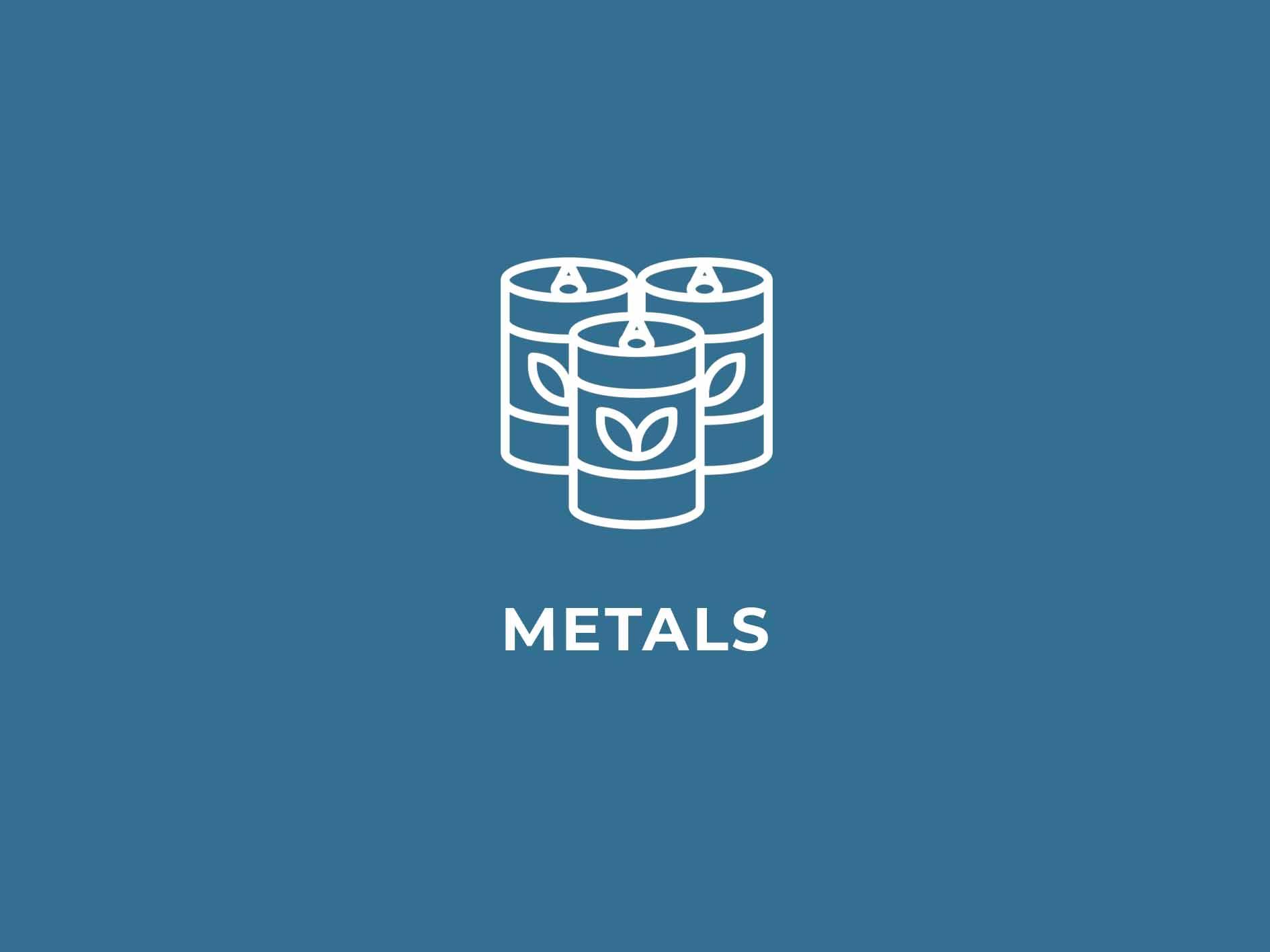 illustation of aluminum cans on blue background