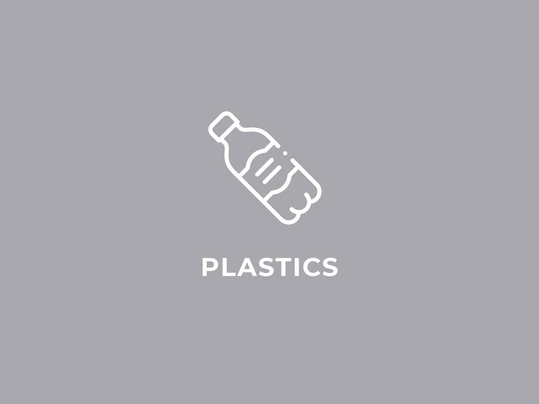 illustration of plastic bottle on grey backgound